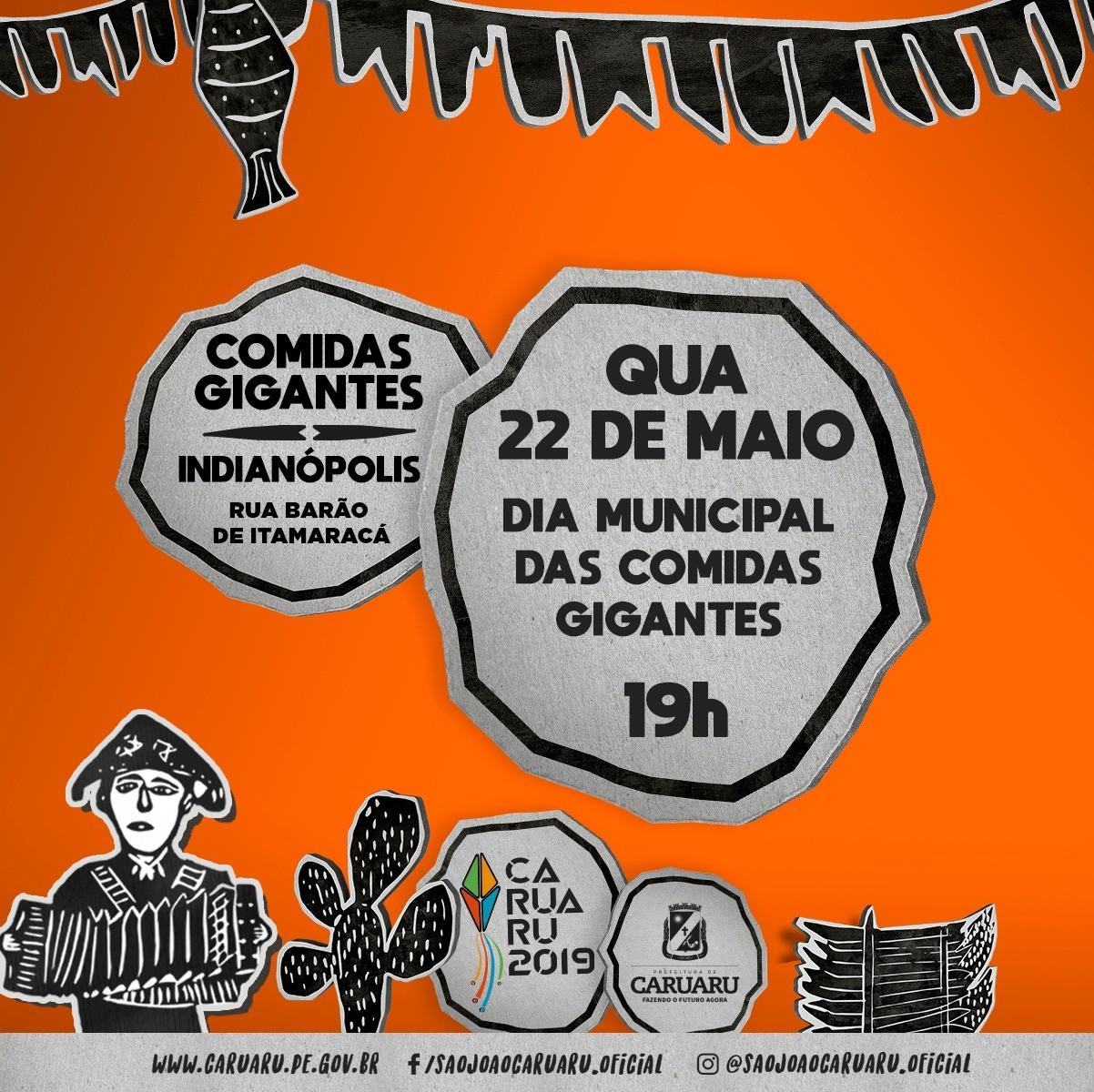 Dia Municipal das Comidas Gigantes é comemorado com mesa junina em Caruaru - Noticias