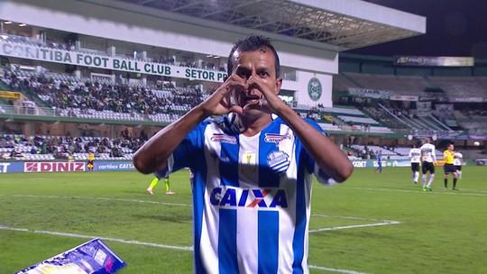 Os gols de Coritiba 1 x 1 CSA pela 32ª rodada do Campeonato Brasileiro Série B