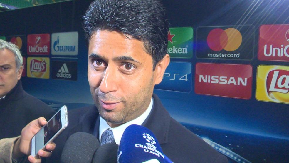 Nasser Al-Khelaifi, dono do PSG (Foto: Ivan Raupp)