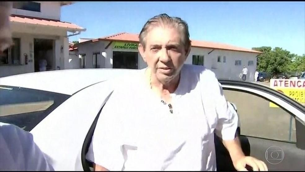 Médium João de Deus está preso suspeito de abuso sexual — Foto: Reprodução/JN
