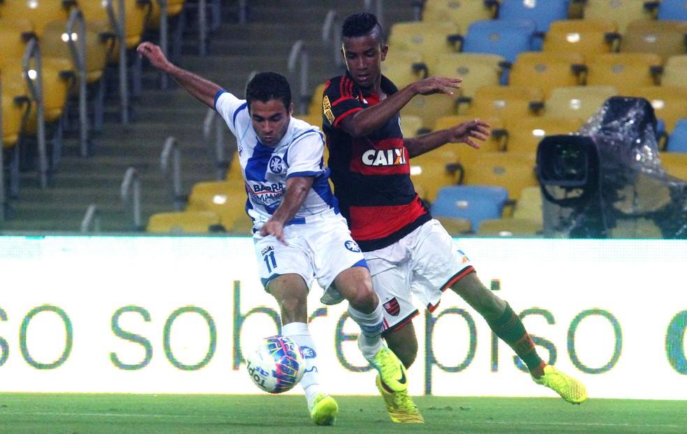 Jorge em ação pelo Flamengo — Foto: Gilvan de Souza / Flamengo