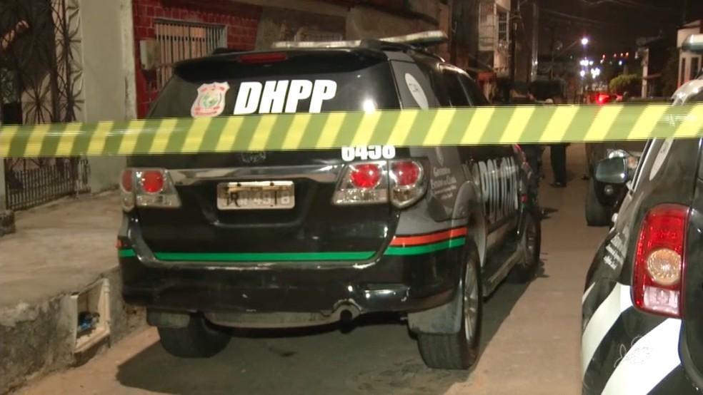 Pastor é assassinado em Fortaleza. — Foto: TV Verdes Mares/Reprodução