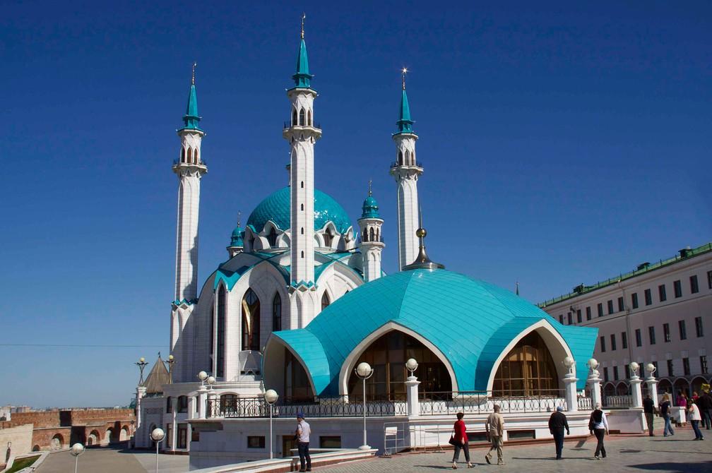 A mesquita de Kul Sharif, em Kazan, na Rússia (Foto: Martha de Jong Lantink/Creative Commons)