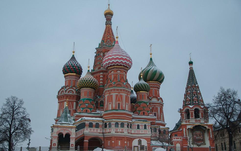 Catedral de São Basílio, em Moscou (Foto: jackmac34/Creative Commons)