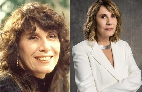 Renata Sorrah viveu Carolina, mulher de Renato. Ela está no ar na série 'Filhas de Eva', do Globoplay Reprodução