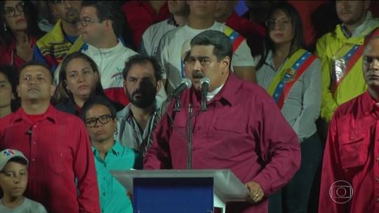 Maduro vence eleição na Venezuela marcada por denúncias de fraude, boicote da oposição e alta abstenção