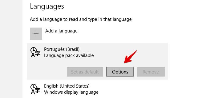 Acesse as configurações do idioma (Foto: Reprodução/Helito Bijora)