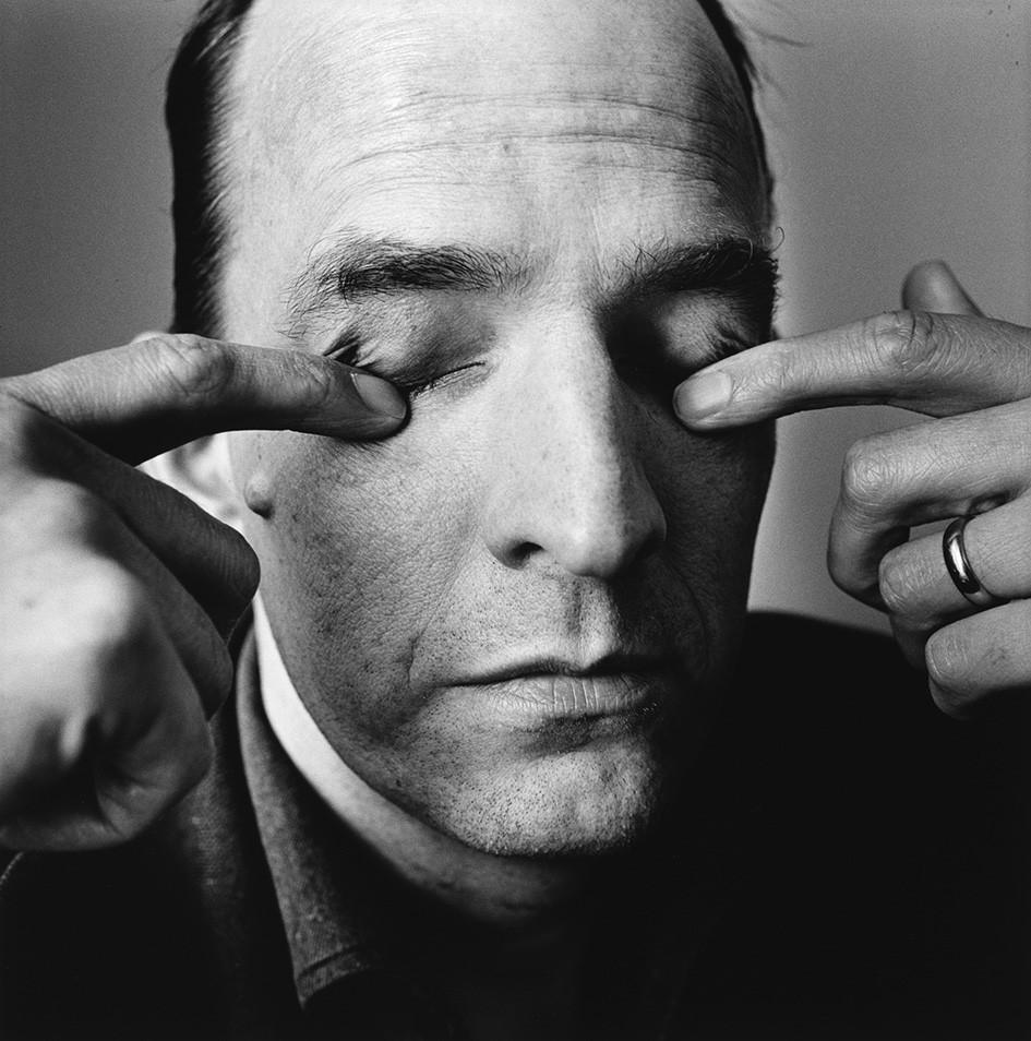 Ingmar Bergman por Irving Penn (Foto: Divulgação)