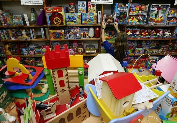 Loja de brinquedos educativos ; Dia das Crianças ;  (Foto: Reprodução/Facebook)