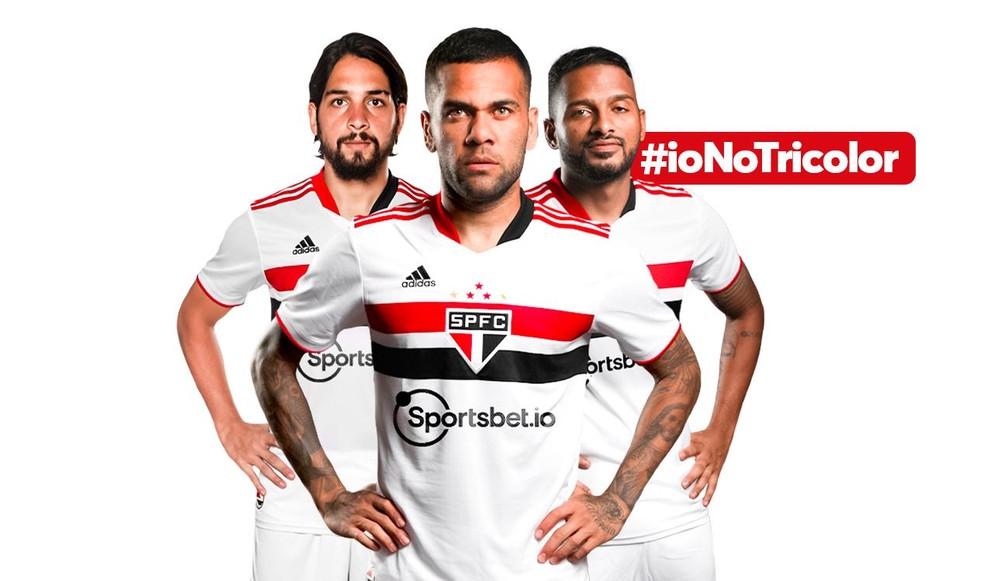 São Paulo anuncia novo patrocinador máster — Foto: Divulgação