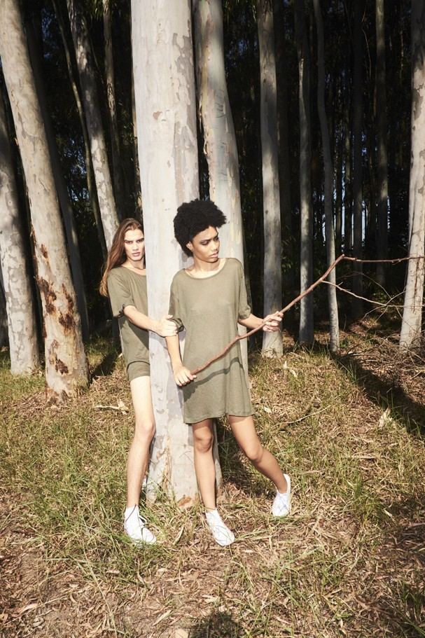 As fotos foram feitas em Salto, floresta no interior de São Paulo (Foto: Thiago Justo)