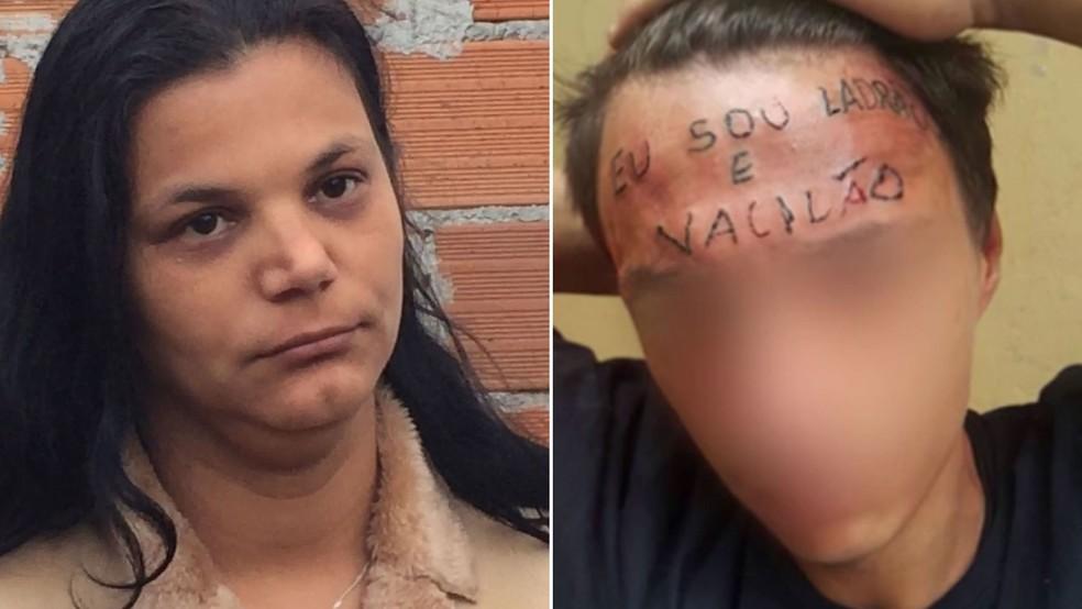 Mãe do adolescente tatuado na testa disse se agressão fosse feita na testa de um rico seria considerada tortura — Foto: Glauco Araújo/G1