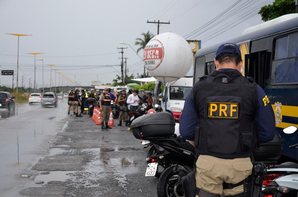 Polícia Rodoviária Federal realizou a Operação Carnaval entre os dias 9 e 14 de fevereiro (Foto: Polícia Rodoviária Federal/Divulgação)