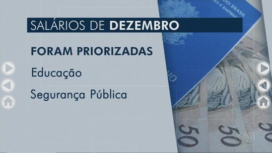 Entenda a previsão de pagamentos de salários atrasados em Goiás