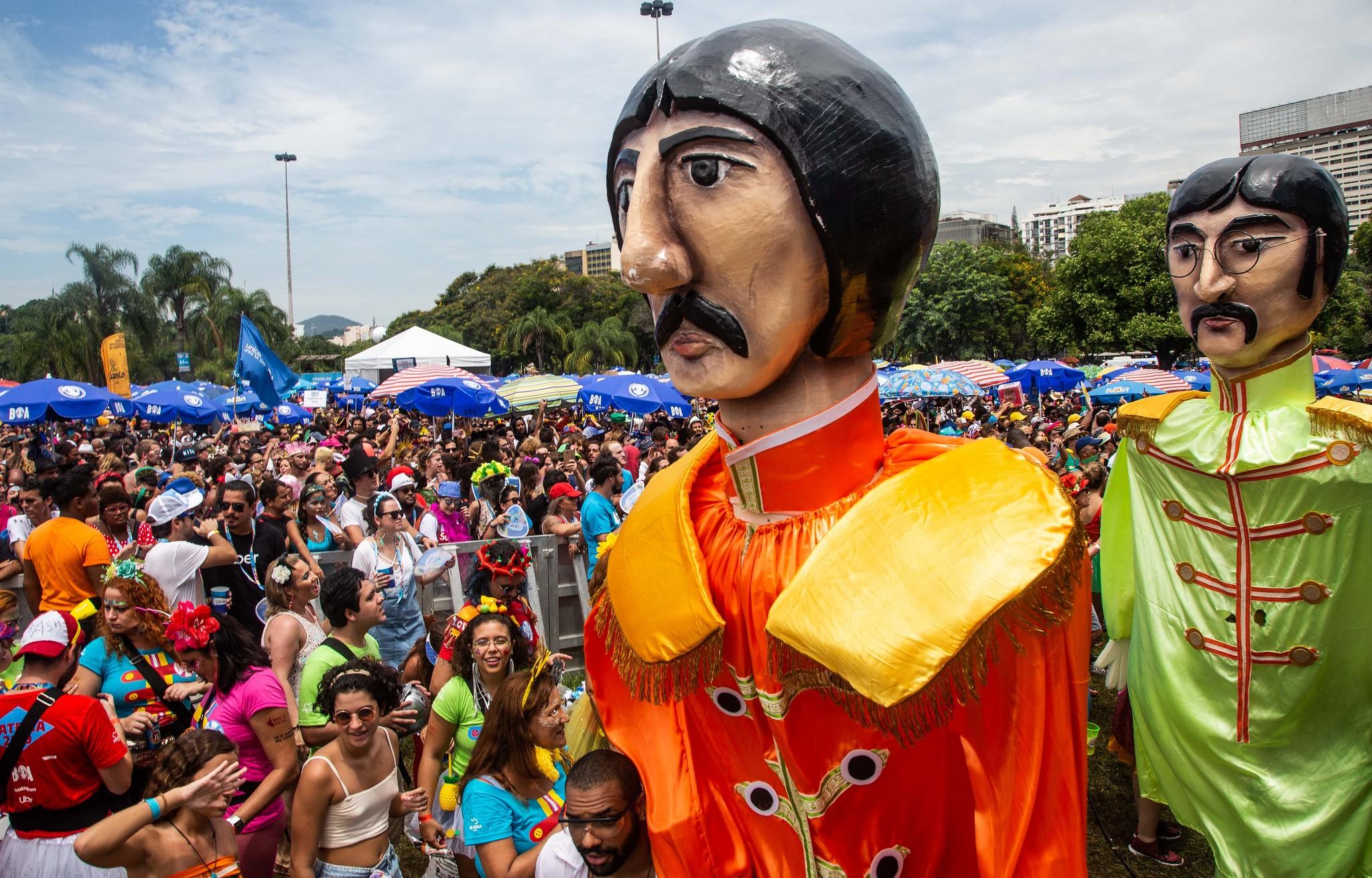 Rio tem mais 40 blocos de rua nesta segunda-feira