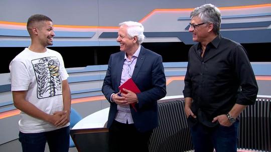 """No Grande Círculo, Renan diz que não se escolheria para ser técnico do Brasil: """"Não estava no radar"""""""