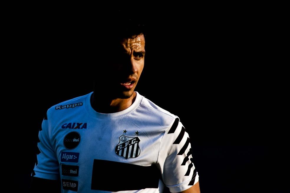 Nilmar está com depressão (Foto: Ivan Storti/Santos FC)