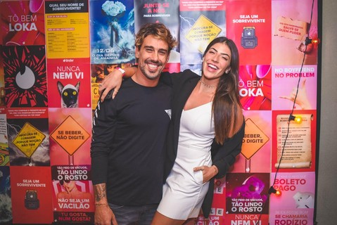 Jefferson Paiva e Rachel Apollonio