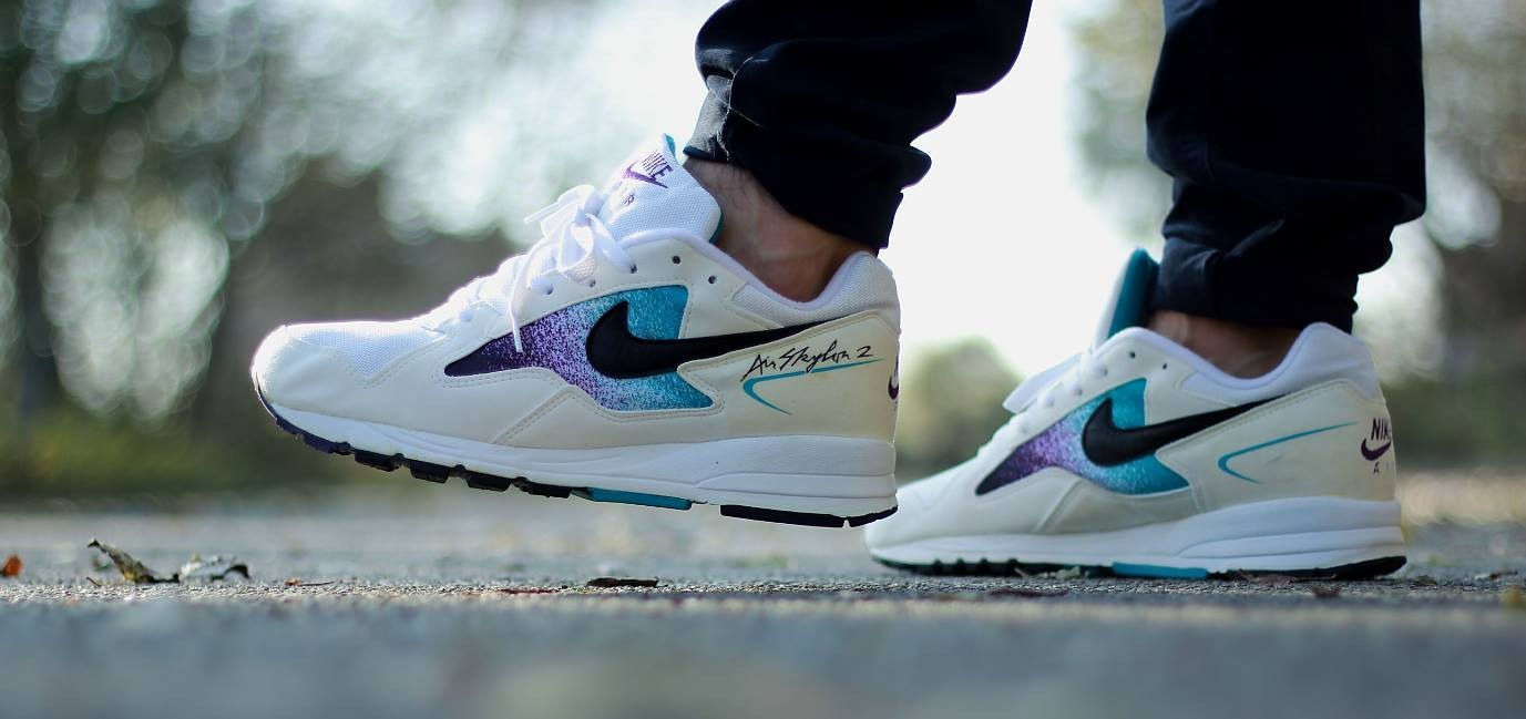 O Nike Air Skylon 2 na colorway Clear Emerald (Foto: Divulgação)