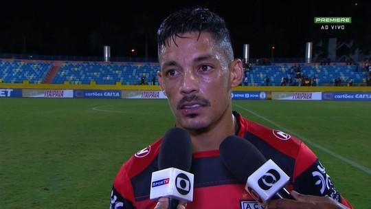 Tomas Bastos exalta virada do Atlético-GO na estreia da Série B