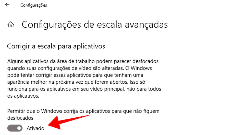 Windows 10 promete ajustar escala de programas clássicos (Foto: Reprodução/Paulo Alves)