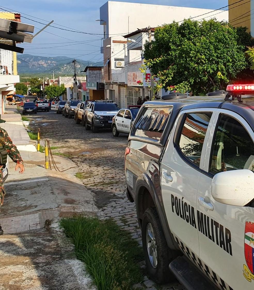 Operação Dia da Coruja cumpre 25 mandados de prisão em seis cidades do RN. — Foto: Divulgação