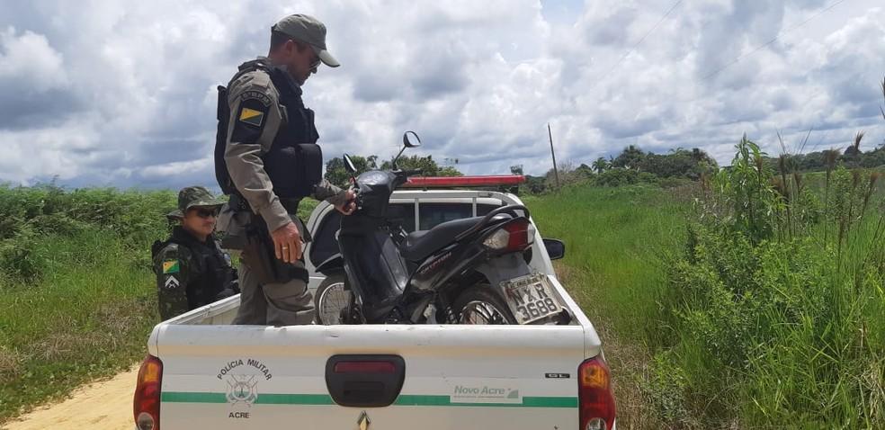 Segurança abre 72 vagas para policiais e bombeiros que devem atuar na fronteira do Acre — Foto: Divulgação/PM-AC
