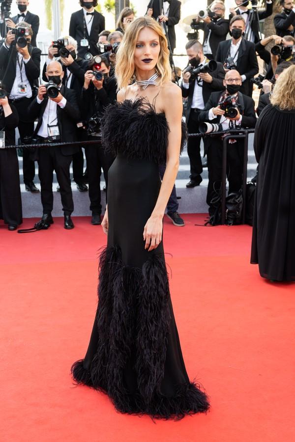 Anja Rubik no Festival de Cannes 2021 (Foto: Getty Images)