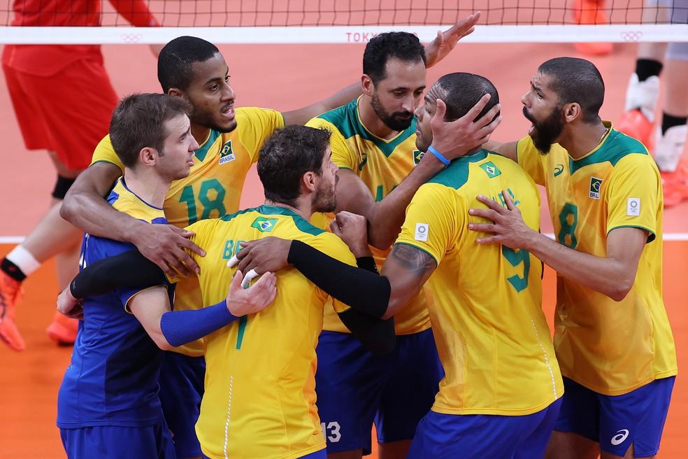 Brasil em ação nas Olimpíadas de Tóquio — Foto: Toru Hanai/Getty Images