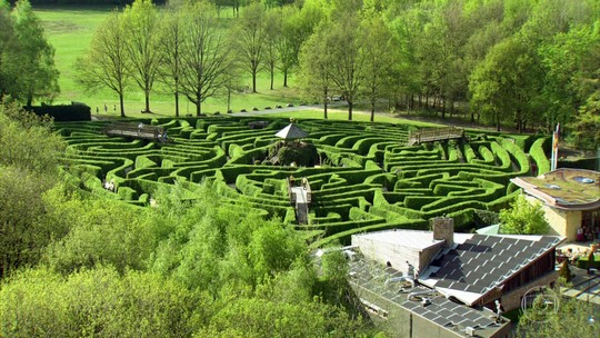 Globo Repórter encara o desafio de entrar no maior labirinto verde da Europa, na Holanda