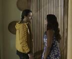 'Verão 90': Jerônimo (Jesuíta Barbosa) e Janaína (Dira Paes) | TV Globo