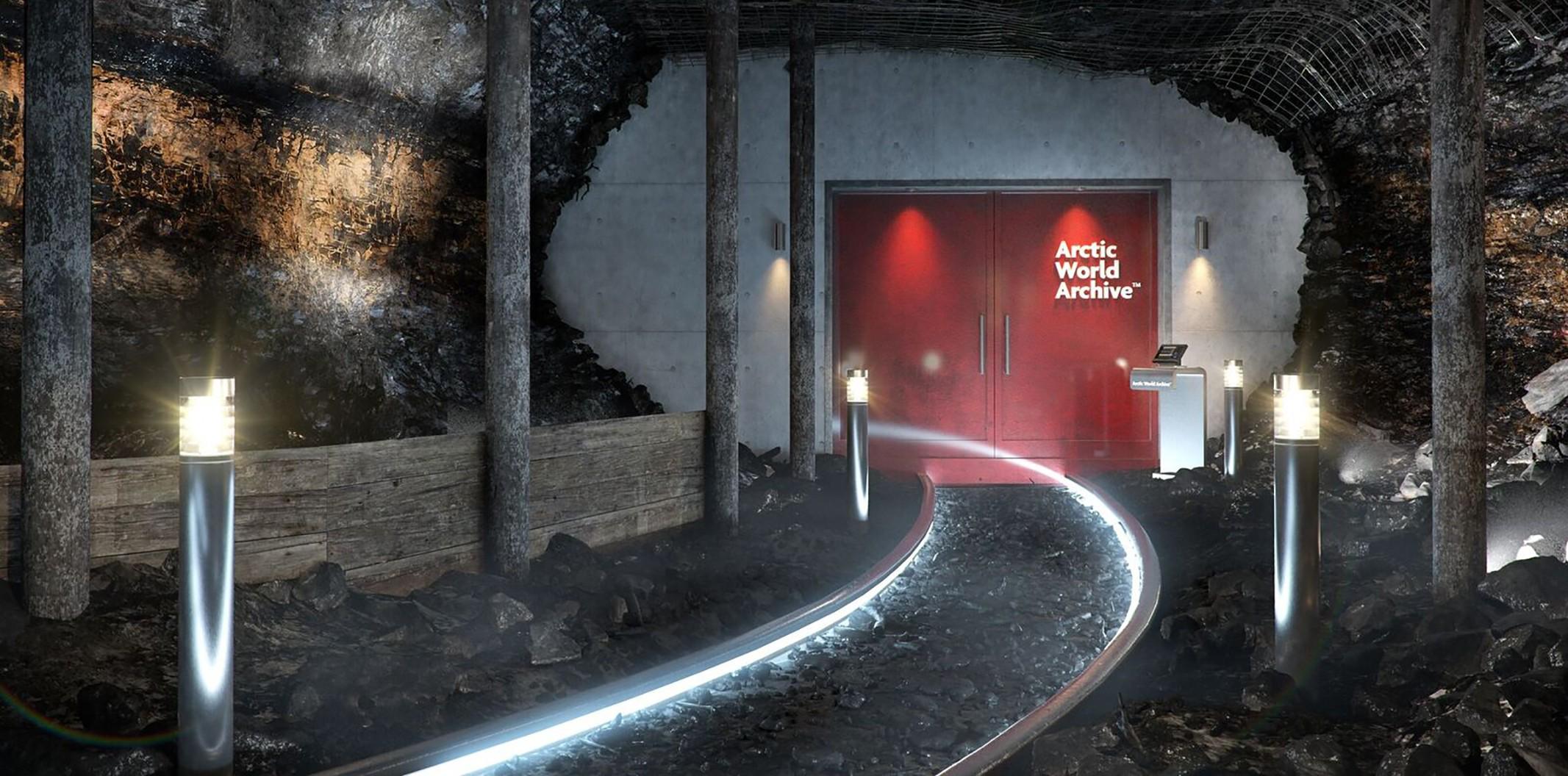 Fachada do Arquivo Ártico Mundial (Foto: Museu da Pessoa/ Divulgação)