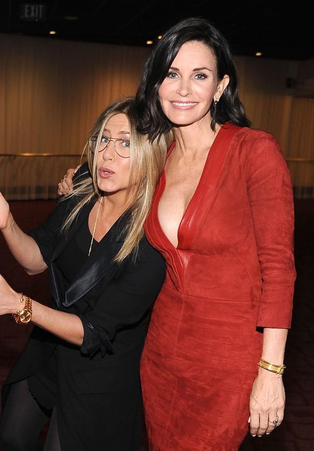 Jennifer Aniston e Courtney Cox (Foto: Getty Images)