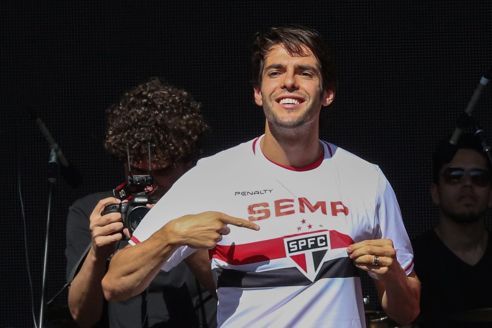 São Paulo apresenta Kaká, em 2014