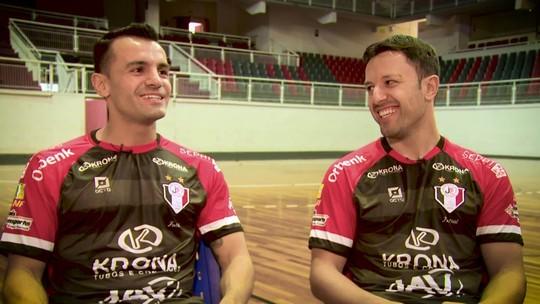 Rivais em finais passadas, Irmãos Roza jogam pelo inédito título do Joinville
