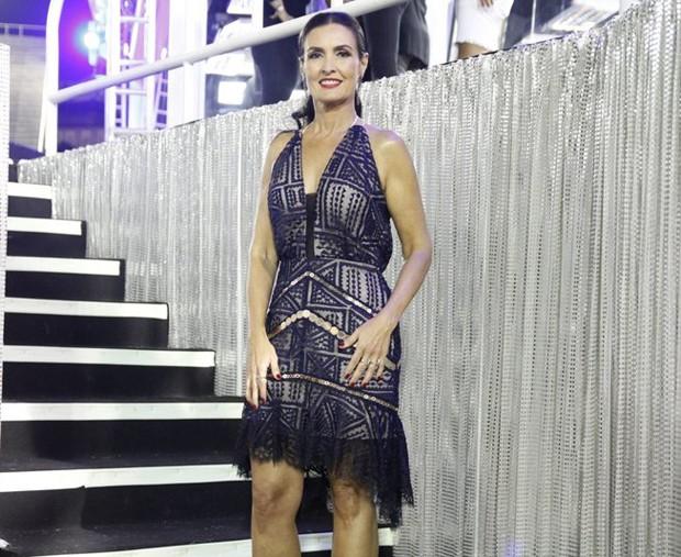 Fátima Bernardes (Foto: Thiago Mattos /AgNews)