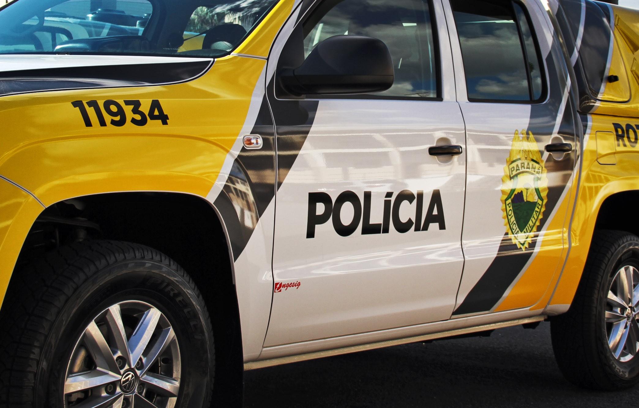 Quatro adolescentes são apreendidos em operação da PM contra o tráfico de drogas, em Curitiba