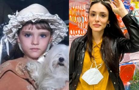 Isabelle Drummond surgiu na Globo aos 6 anos em 'Os Maias'. Sua novela mais recente foi 'Verão 90'. Poderá ser vista no cinema este ano como Tina em 'Turma da Mônica: Lições' Reprodução