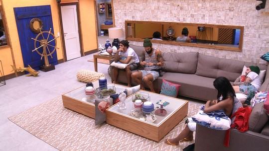 Diego e Caruso são sorteados para as compras do Tá com Tudo