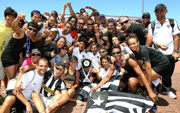 Botafogo Campeão Brasileiro de remo (Foto: Satiro Sodré / SSPress)