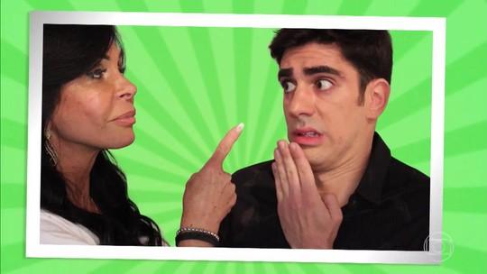 Convidados do 'Adnight Show' inventam memes com Gretchen; veja o resultado!