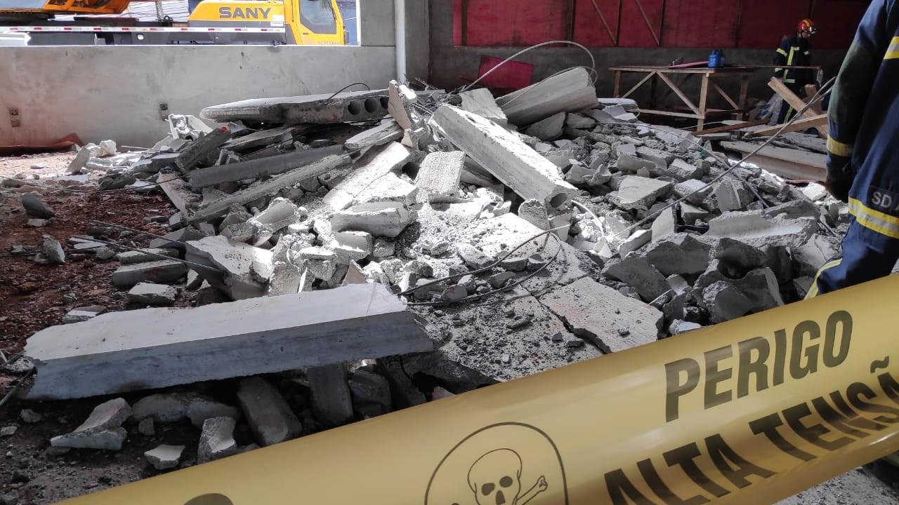 Laudo da Criminalística aponta falhas na construção de bloco de centro universitário que desabou - Notícias - Plantão Diário