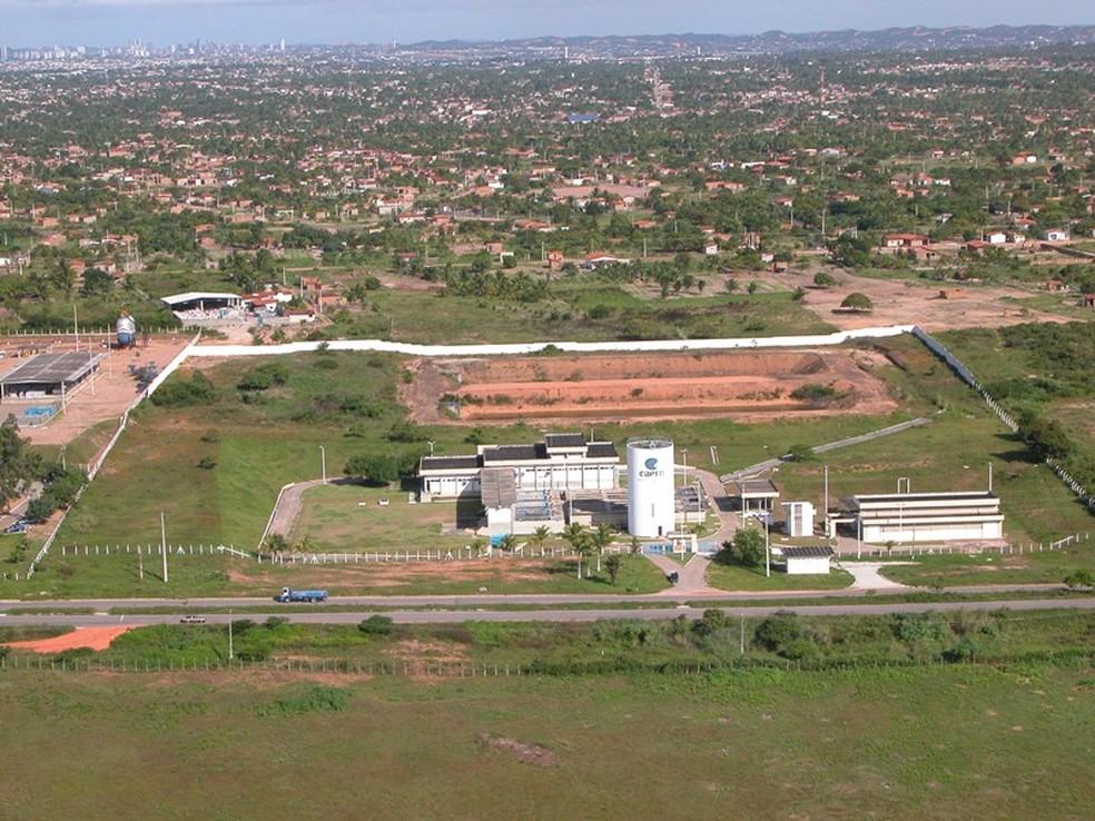 Suspensão acontece para manutenção da ETA de Extremoz — Foto: Divulgação