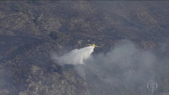 Incêndio no Parque Nacional da Serra do Cipó consome quase quatro mil hectares