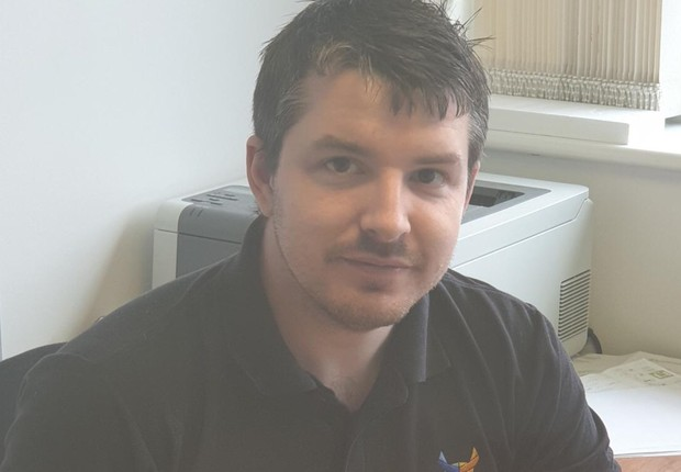 Aaron Young, fundador da startup britânica Digital Ox, que apaga dados de usuários (Foto: Divulgação)