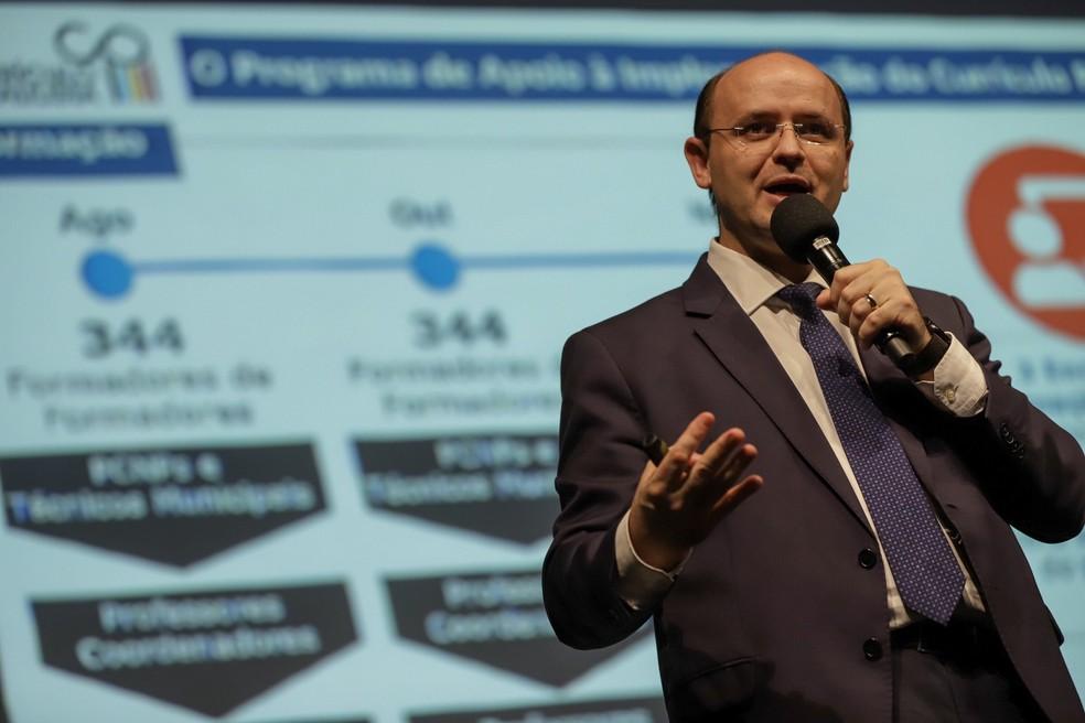 O secretário estadual da Educação de São Paulo, Rossieli Soares — Foto: Divulgação/Governo de SP