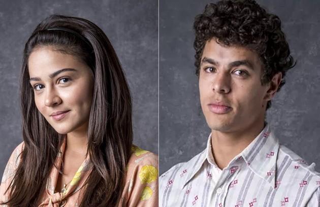 Os moradores de Serro Azul se reunirão para o casamento de Elisa (Giullia Buscacio) e Maltoni (Matheus Abreu) (Foto: TV Globo)