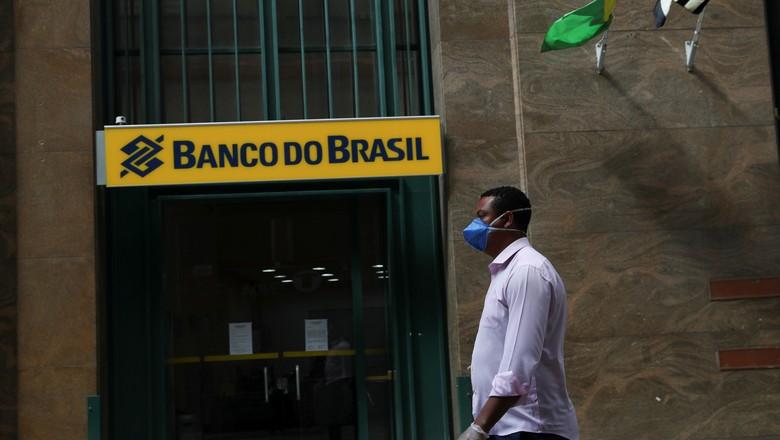 Sede do Banco do Brasil em São Paulo 24/3/2020 (Foto: Amanda Perobelli/Reuters)