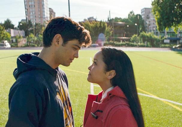 Noah Centineo e Lana Condor no filme Para Todos os Garotos que Já Amei (Foto: Reprodução/Netflix)