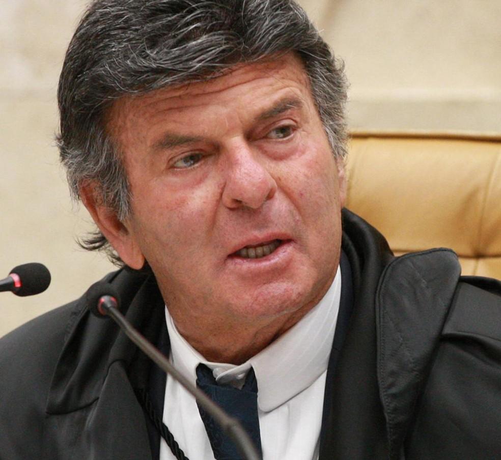Luiz Fux — Foto:  Nelson Jr./SCO/STF